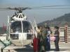 Sección aérea Temuco de Carabineros traslada de urgencia a bebé recién nacido en laAraucanía