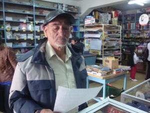 Armin Venegas. Escritor y poeta local