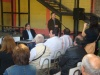 Tomando apunte y buscando mejorar el acto político: Saffirio se reúne con dirigentes ypobladores